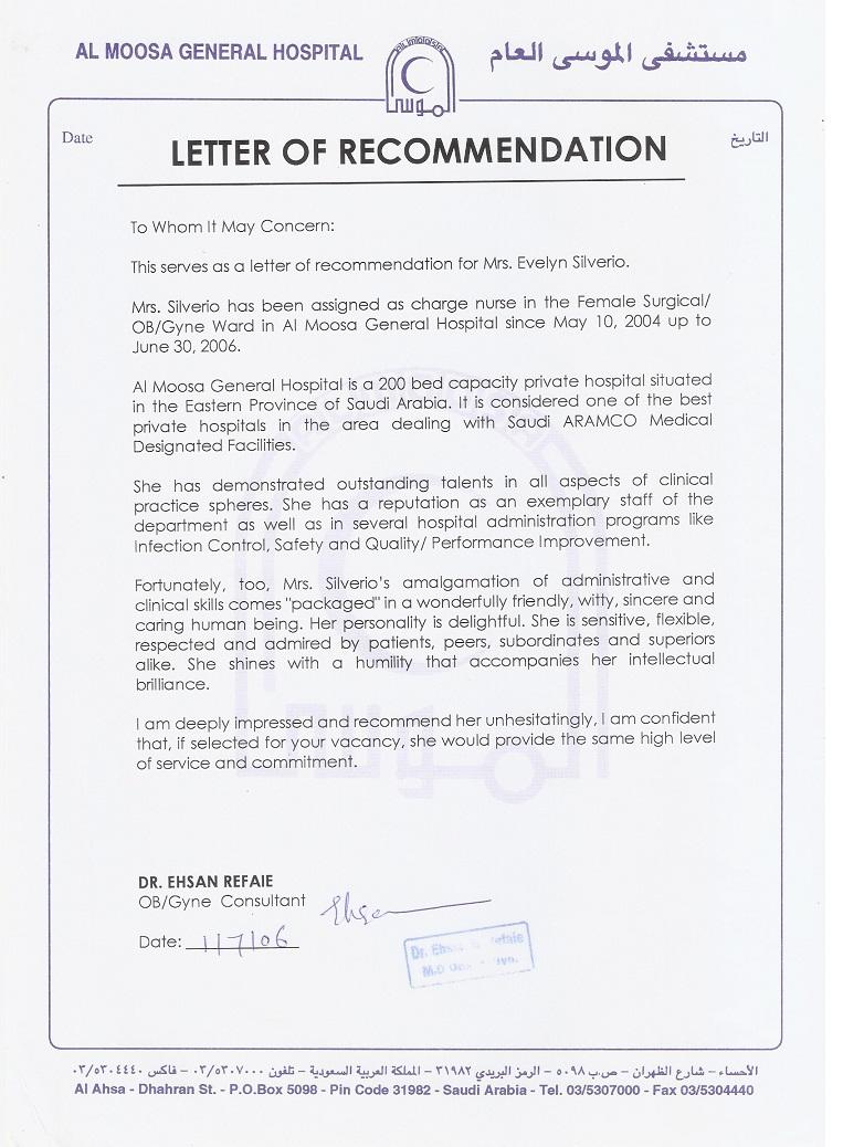 reference letter babysitter diepieche tk hospital letter of recommendation 1 reference letter babysitter 25 04 2017