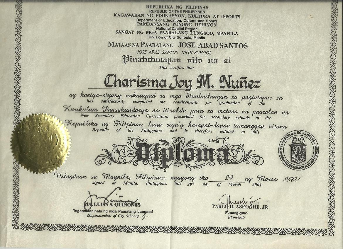 National External Diploma Program NEDP, Continuing